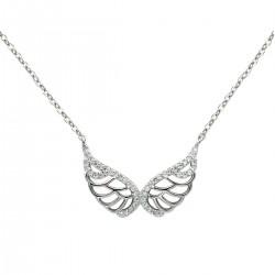 Naszyjnik srebrny skrzydełka